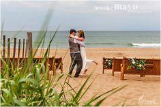 Nags Head Beach Wedding, Nags Head, Beach wedding, diy, Beach, wedding, Renee Landry Events, intimate wedding, july wedding, Brooke Mayo Photographers, www.brookemayo.com