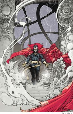 Dr. Strange by Mario Alberti