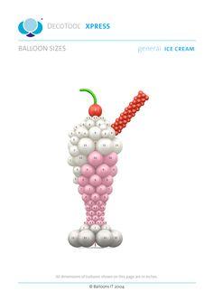 BalloonsIT Ice Cream General DecoTool Xpress - Members Free Download