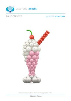 BalloonsIT Ice Cream General DecoTool Xpress - Members Free Download