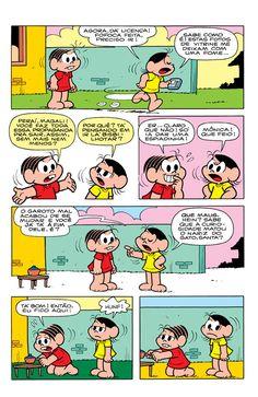 Mônica e Magali – Um menino sobre rodas