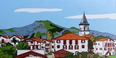 Soledad Bravi Village d'Ainhoa au Pays Basque