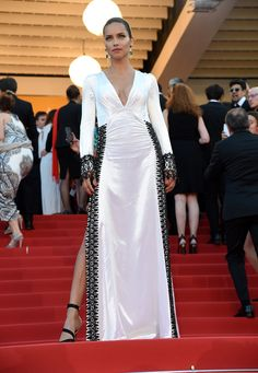 Adriana Lima at the #Cannes Julieta premiere.