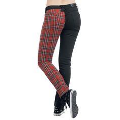 Pantalones Mujer por Rock Rebel by EMP $39.99 € - € en EMP...  la mayor tienda online de Europa de Merchandising oficial de bandas de Metal, Hard Rock , Heavy, Ropa Gótica , Punk y todo lo que te hace falta para vivir el Rockstyle en toda su dimensión.  EMP Rock Mailorder España