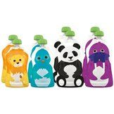 Squooshi Reusable Food Pouch, 8 pack, Assorted sizes - Baby - Feeding - Cups & Tableware