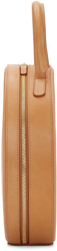 Mansur Gavriel - Tan Leather Circle Bag
