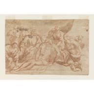 Entombment of Christ, Aniello Falcone, 1640-1660
