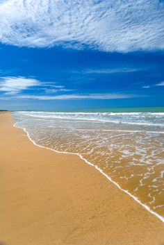 Yeppoon beach - just up the road from our town!