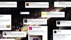 「Twitterの声」と「天気・時間帯」をもとに、デジタルサイネージで展開するファッションショー   AdGang