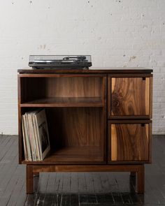 Walnut Record Player Stand                                                                                                                                                                                 More
