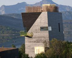 Hamsunsenteret #Norge #arkitektur