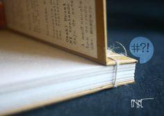 Libreta pasta dura, encuadernado japonés de 14 x 9 cm
