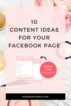 Always have great content on your Facebook page with this checklist