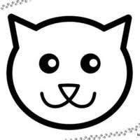 Katzenkopf Umriss Google Suche Malvorlagen Halloween Katzenkopf Kurbis Malvorlage