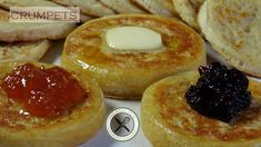 Wait a second . Bakery Recipes, Jam Recipes, Real Food Recipes, Cookie Recipes, Bread Recipes, Churros, Commonwealth, Crumpet Recipe, Cookies