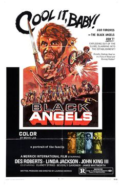 Black Angels. One sheet poster.