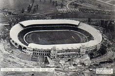 Wembley Stadium under construction, 1922/3.