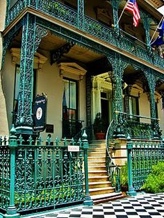 Charleston, South Carolina...Gorgeous Wrought Iron!!