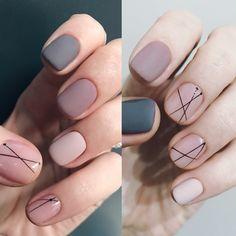 Gel Nail Polish Colors, Nail Polish Designs, Nail Art Designs, Nail Manicure, Diy Nails, Swag Nails, Nails For Kids, Short Nails Art, Minimalist Nails