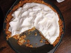 The beauty of this Atlantic Beach pie lies in the play between the salty, dense crust made from soda crackers and the creamy sweet-and-tart filling featuring citrus juice.   Associated Press