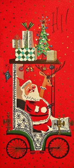 Late 50s-early 60s Christmas card