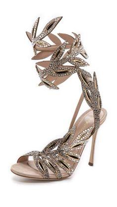 Sergio Rossi's dazzling sandals. Modastic - A Community of Luxury Lifestyle