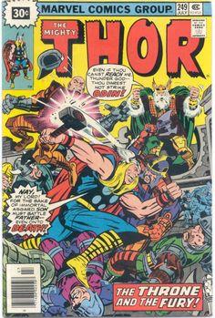Thor 249 Marvel comics
