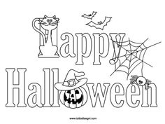 ghost coloring page  Halloween  Pinterest  Coloring pages