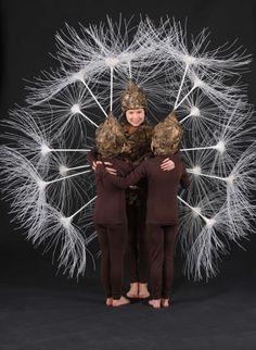 The Dandelion Clock, Tracey Koole, Auckland: World of Wearable Art contest 2009 (children's section winner)