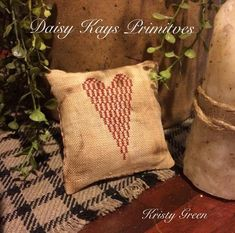 Thrilling Designing Your Own Cross Stitch Embroidery Patterns Ideas. Exhilarating Designing Your Own Cross Stitch Embroidery Patterns Ideas. Cross Stitch Pillow, Cross Stitch Samplers, Learn Embroidery, Cross Stitch Embroidery, Cross Stitch Designs, Cross Stitch Patterns, Primitive Pillows, Heart Pillow, Country Primitive
