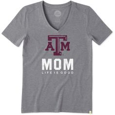 Collegiate Collection Women's Texas A&M Mom Cool Vee | Life is Good®…