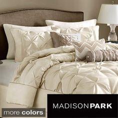 Madison Park Lafayette 7-piece Comforter Set (NOT a DUVET) $110 - In white