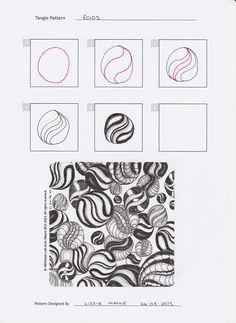 51 Best Tangles-r images   Doodle art, Doodles, Doodles zentangles