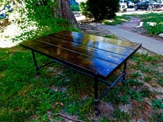 Industrial Coffee Table. Rustic Table. Pipe Coffee Table. Industrial Furniture. Rustic Furniture. Wooden Coffee Table. Home Decor.