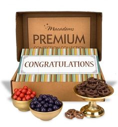 From personalized chocolate tools to branded client promotions, the best gift ideas for a contractor, builder or construction worker. Chocolate Covered Blueberries, Chocolate Covered Pretzels, Chocolate Toffee, Chocolate Treats, Chocolate Peanuts, Personalized Chocolate, Personalized Gifts, Custom Bows, Client Gifts