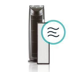 Alen Hepa-Pure Filter for the T500 Standard Air Purifier, Whites