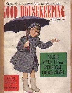1951 Good Housekeeping April - Martha Gellhorn; Make-up