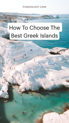 How to choose the right Greek Island: this guide covers the top Greek Islands, including Santorini, Mykonos, Milos, Paros, Naxos, Ios, plus photos and tips for traveling to each one. Find all of our Greek Island guides on finduslost.com. #greece #greekislands #santorini #mykonos #ios #naxos #paros #milos Top Greek Islands, Greek Islands Vacation, Europe Travel Guide, Travel Destinations, Mykonos, Santorini, Romantic Vacations, Dream Vacations, Albania