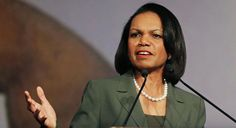 Condoleezza Rice is pictured.   AP Photo