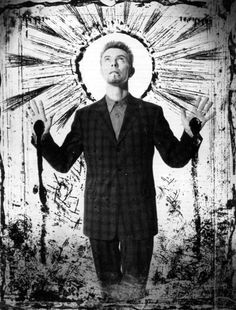 David Bowie, Pulse Magazine, 1997.    Photo: Skoid