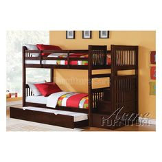 Alem Bunk Bed with Trundle