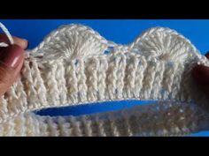 GORRO de abanicos a crochet FACIL punto fantasia a ganchillo - YouTube Crochet Beard Hat, Crochet Hooded Scarf, Knitted Headband, Crochet Beanie, Crochet Tablecloth, Crochet Doilies, Crochet Stitches, Crochet Patterns, Crochet Fish