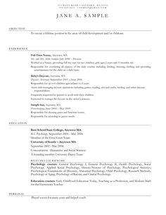 early childhood educator resume samples http resumesdesign com