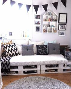 º Deco, Inspiration, Furniture, House, Home, Storage Bench, Home Decor, Study Nook, Room