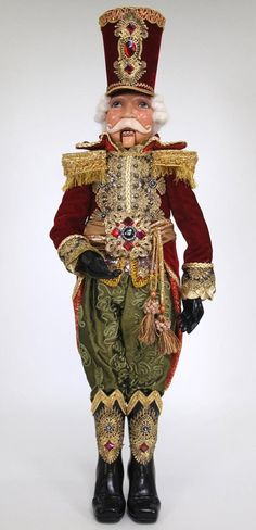 Katherine's Collection Old World Nutcracker Doll - SOLD OUT