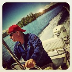 Here's my father, Andy Scott, in his preferred habitat, at the helm of a Boston Whaler traversing the waters of Squam Lake (he would probably prefer a sailboat). My brother's and I just spent a great weekend on the lake with our Pops! Happy Father's Day Dad...thank you for everything...seriously, everything!