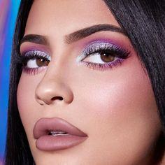 appreciation post to Kylie's make up😍 Kris Jenner, Kylie Jenner Eyes, Kylie Jenner Makeup Look, Looks Kylie Jenner, Kendall Jenner, Kylie Jenner Makeup Tutorial, Jessie James, Kim Kardashian, Makeup Inspo