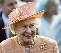 The Queen at a Garden Party by The British Monarchy, via Flickr