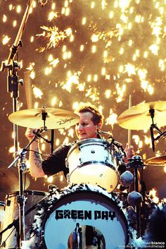 Tre Cool (drummer from Green Day) ❤❤❤