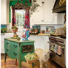 Love, love, love this colorful eclectic craziness!